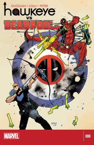 Hawkeye vs. Deadpool 000-000