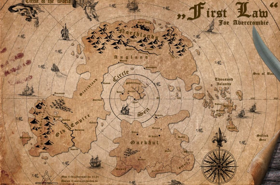 the first law world map No Winds Of Winter No Problem