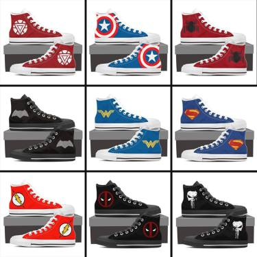 Super Hero Chucks