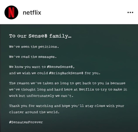 Netflix Letter