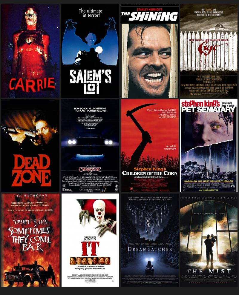 Stephen King Filme & Fernsehsendungen