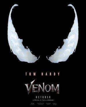 Image result for venom movie poster