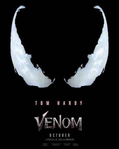 Image result for venom movie poster
